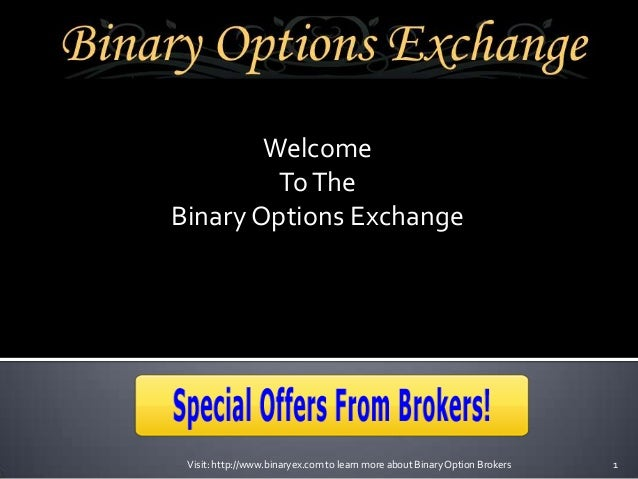 Us based binary options brokers