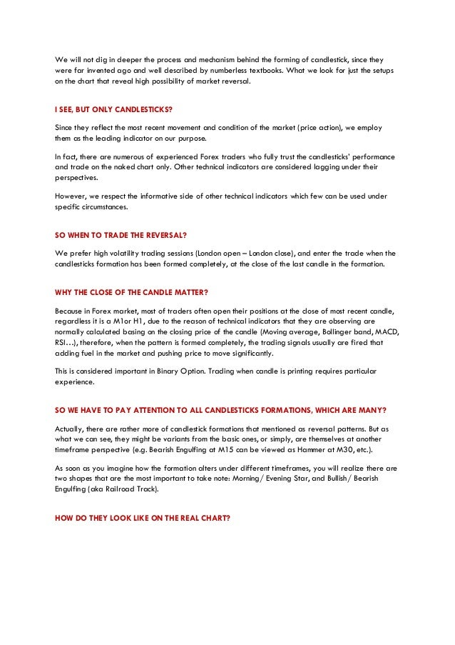 Avoiding option trading traps pdf