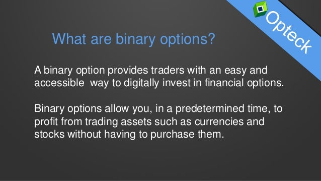 Best strategy to win binary options