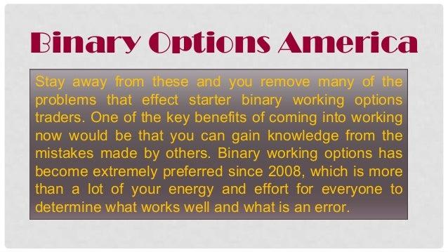 Binary option american