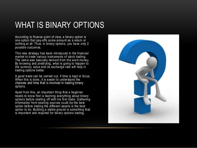 Binary options trading license