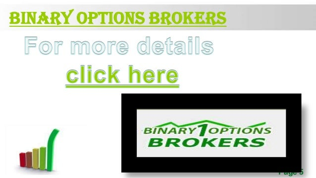Binary options trading best broker nyc