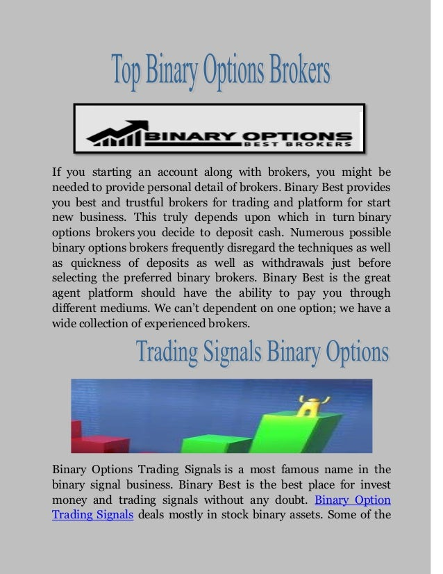 Binary options brokers com