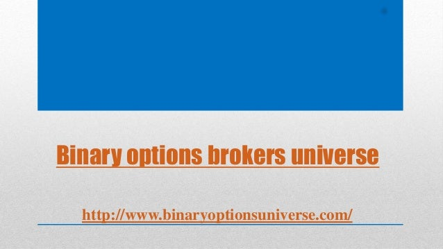#1 binary options broker
