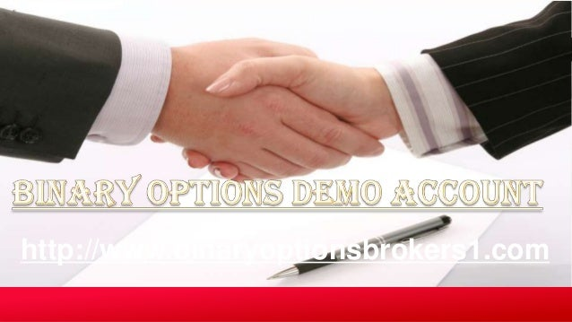 Demo binary options trading account questions