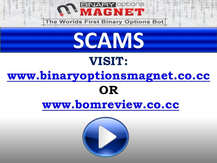 List of binary options scams