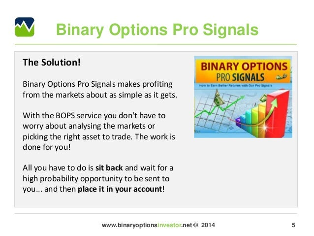 Binary signals club review