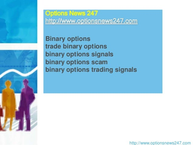 Binary options signals test