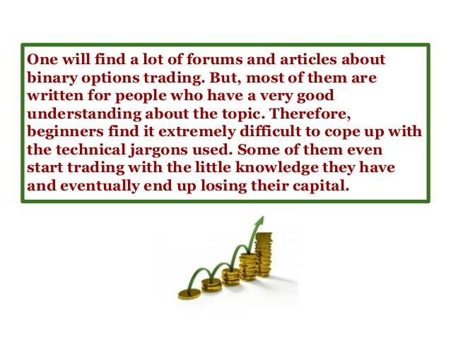 Commodity option trading for beginners