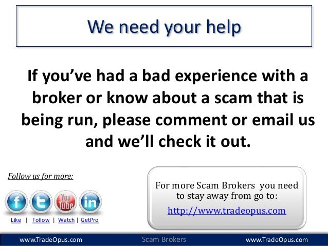 binary options scams youtube