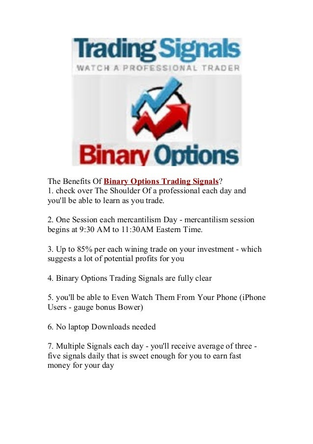 How is binary options works