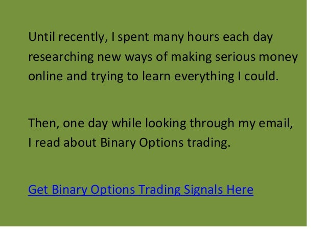 My option trading