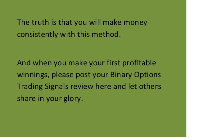 Binary options trading signals franco reviews