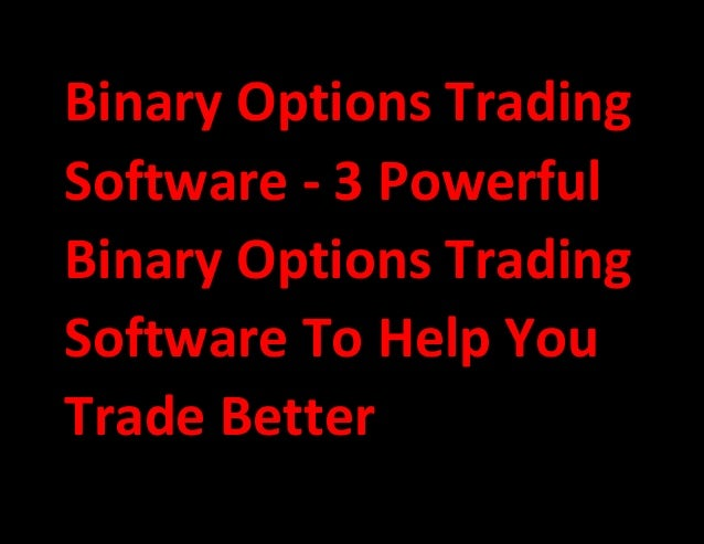 Best options trading programs