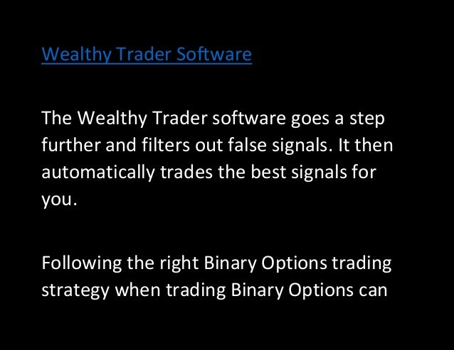 Binary options trading software test