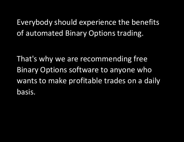 Binary option disadvantages