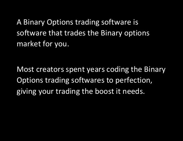 Binary options helper