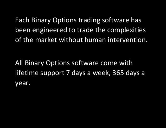 Binary options signal service