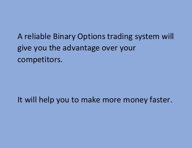 Best way to make money in binary options