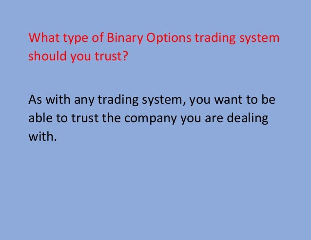 Australian binary options traders
