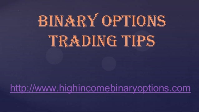 Binary option trading game