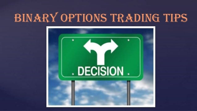 Nadex binary option trading signals