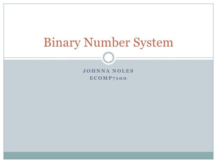 Binary Slides