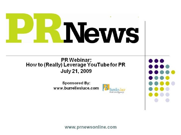 How to (Really) Leverage YouTube for PR