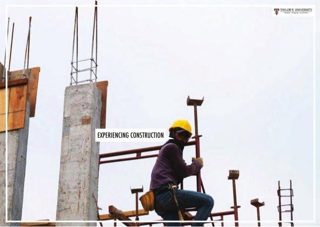 EXPERIENCING CONSTRUCTION