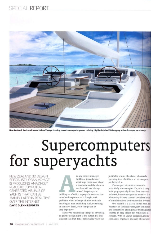 Superyacht Business Article
