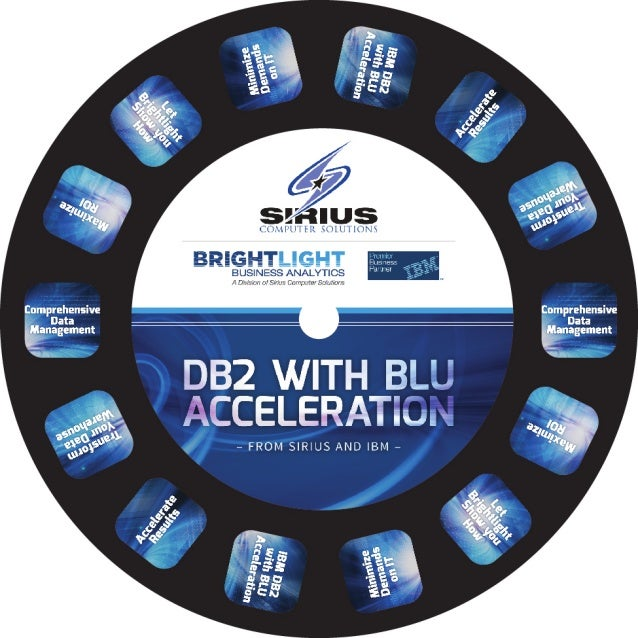 DB2 with BLU Acceleration with Sirius and IBM
