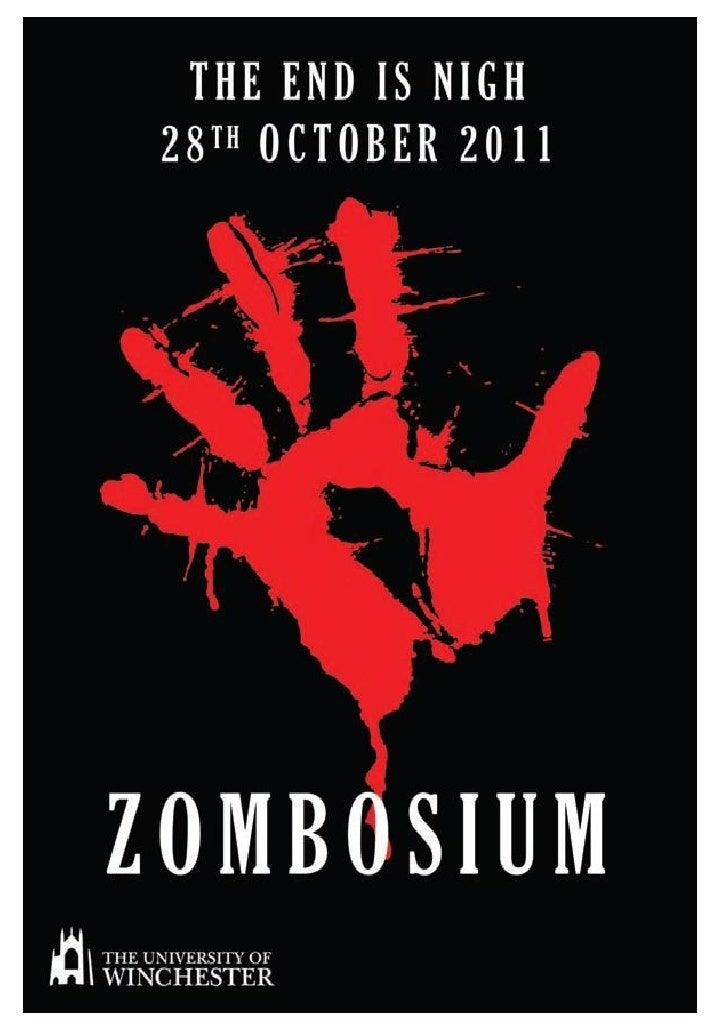 Zombosium Programme