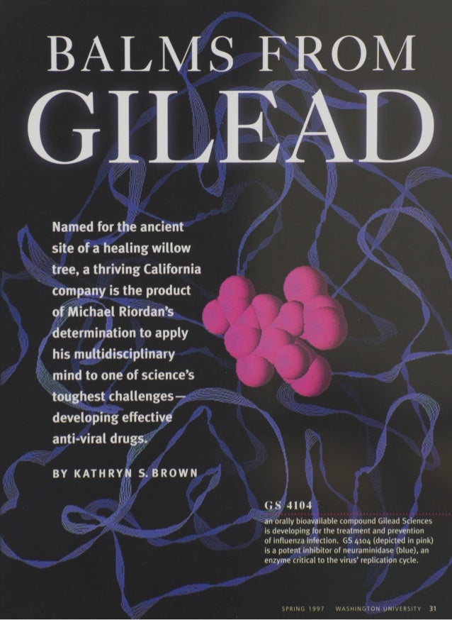 1997 Profile of Dr. Michael L. Riordan, Founder and CEO of Gilead Sciences