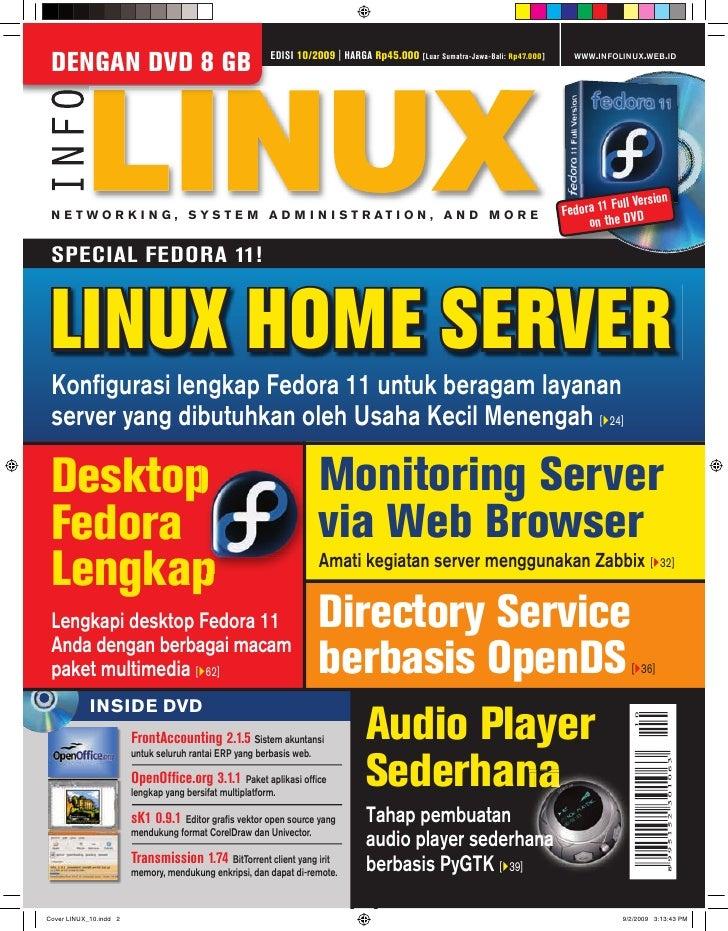 EDISI 10/2009   HARGA Rp45.000                                          WWW.INFOLINUX.WEB.ID DENGAN DVD 8 GB              ...