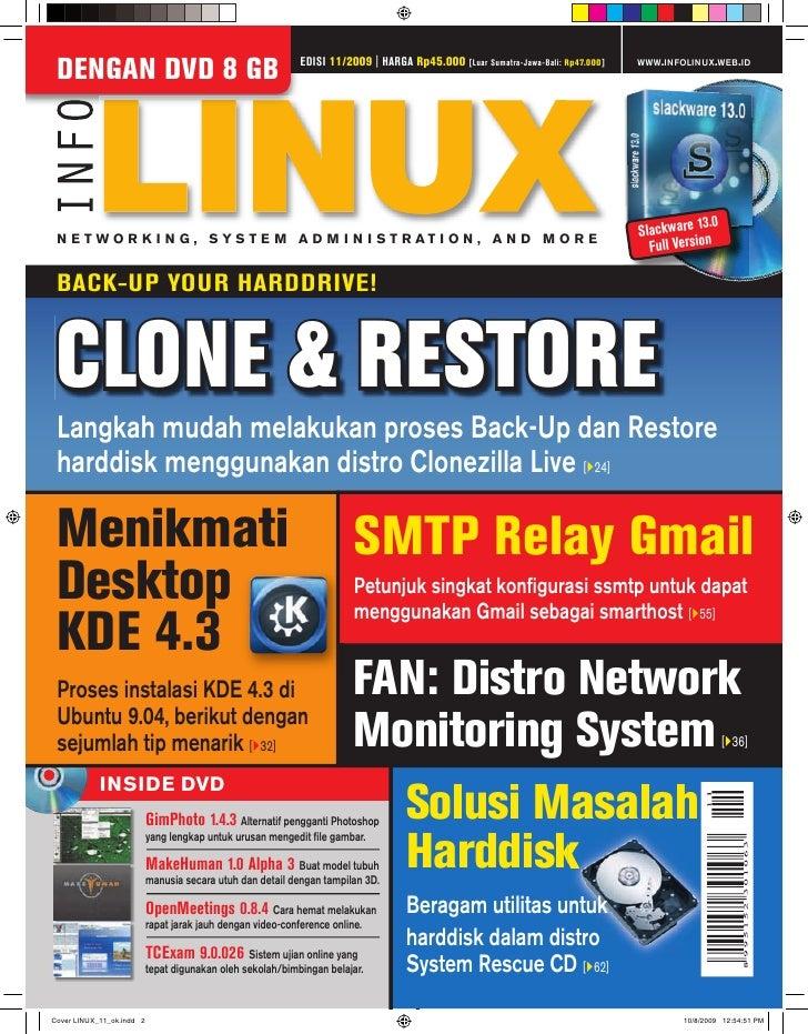EDISI 11/2009 | HARGA Rp45.000                                        WWW.INFOLINUX.WEB.ID DENGAN DVD 8 GB                ...