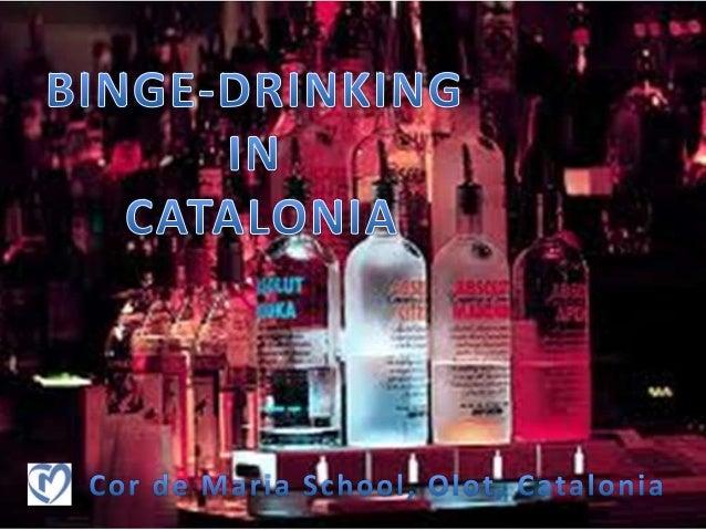 Binge drinking in Catalonia
