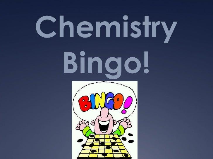 Chemistry Bingo!