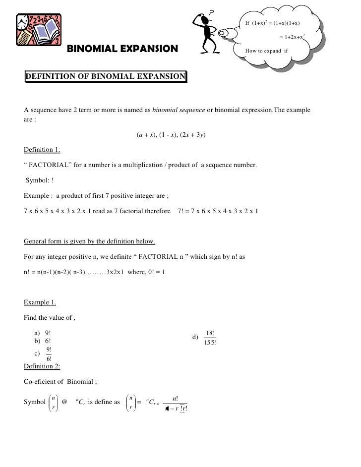 If (1+x)2 = (1+x)(1+x)                                                                                                  = ...