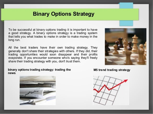 Best binary option strategies