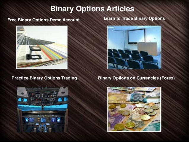 Binary options test account
