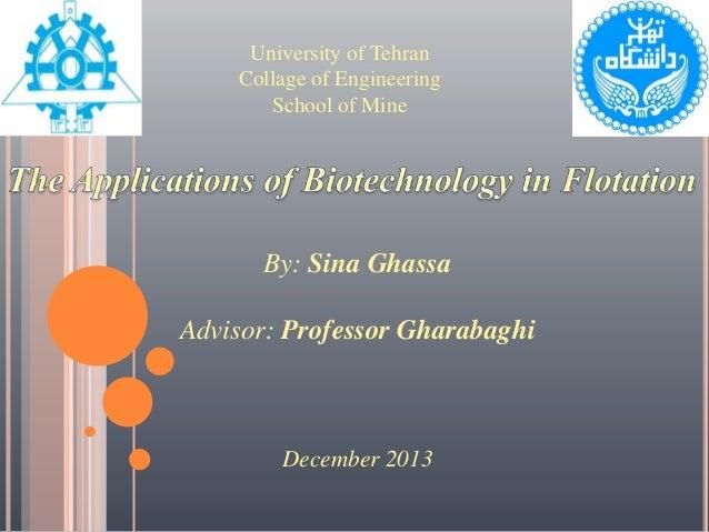 Bio-flotation