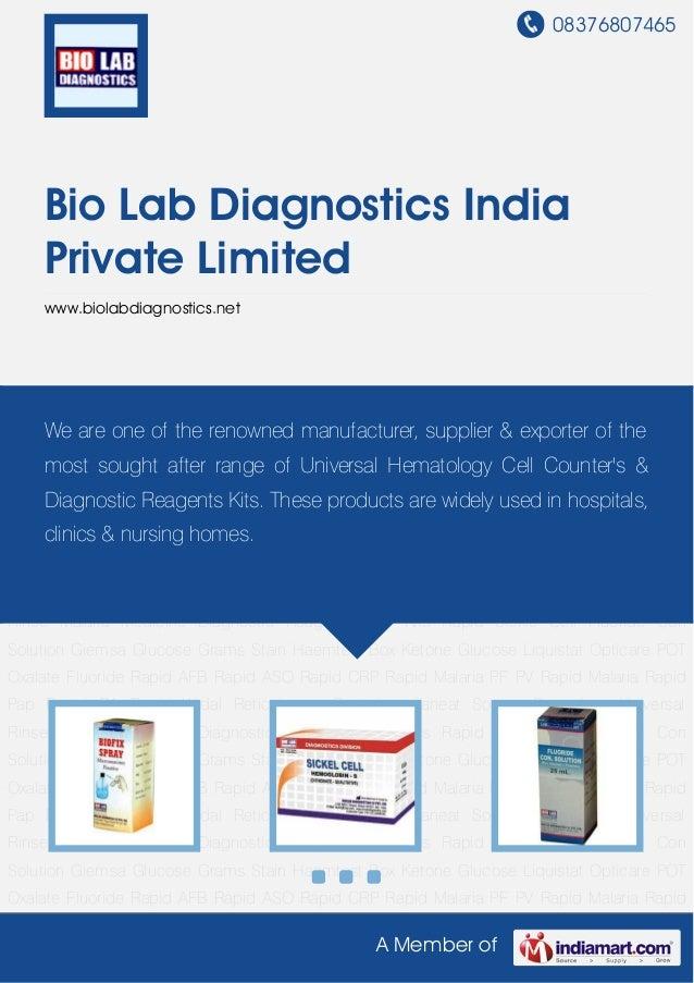 Bio lab-diagnostics-india-private-limited