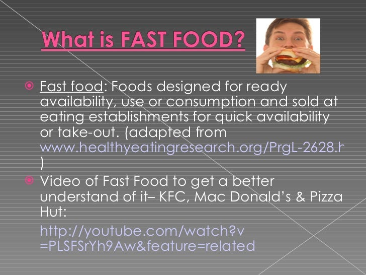 Research paper! need help! topic: Junk Food vs. Healthy Foods?