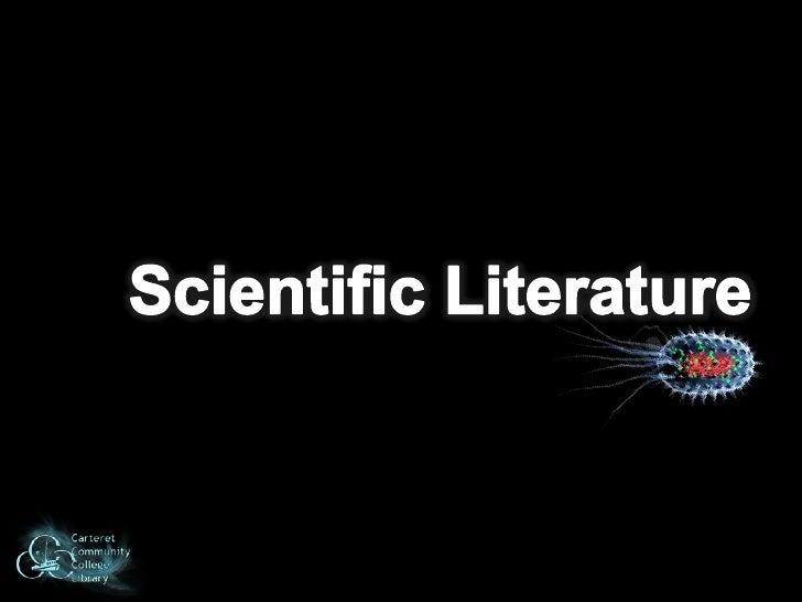 Scientific Literature<br />