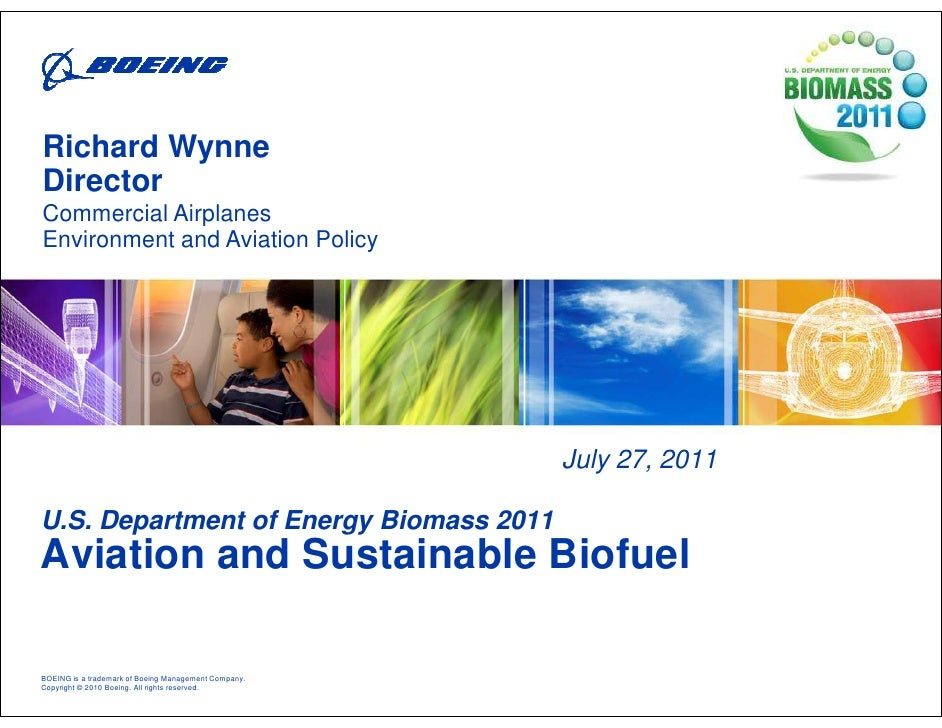 Aviation and Sustainable Biofuel
