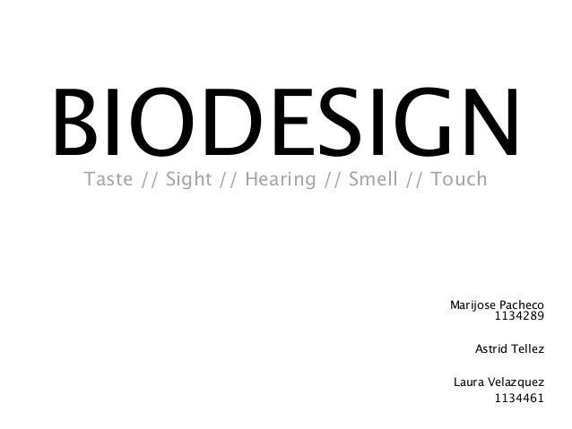 Biodesign 30 living things