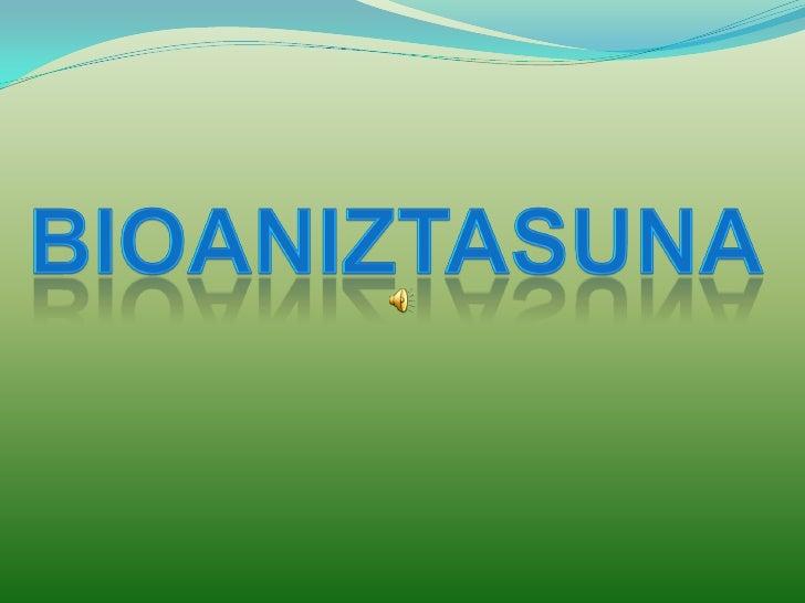 Bioaniztasun Aegoitz