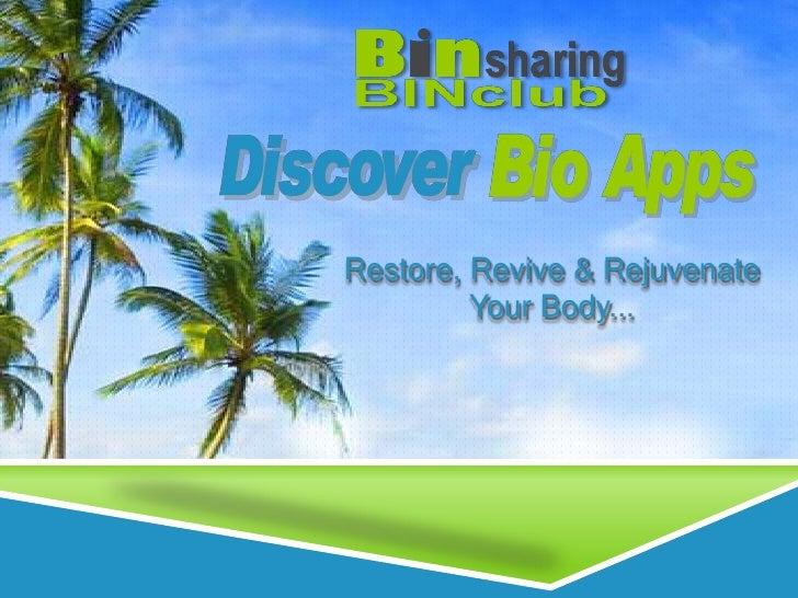 Restore, Revive & Rejuvenate <br />Your Body...<br />