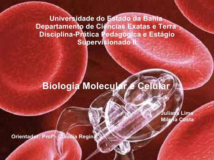 Bio celular e molecular