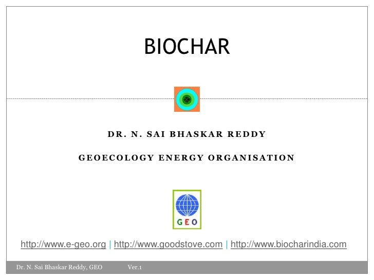 Biochar Introduction Geo Dr R Ver 1.0